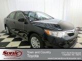 2012 Attitude Black Metallic Toyota Camry LE #73989399