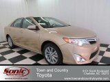 2012 Sandy Beach Metallic Toyota Camry XLE V6 #73989398