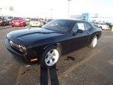 2013 Pitch Black Dodge Challenger R/T #73989292