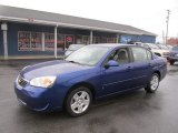 2007 Laser Blue Metallic Chevrolet Malibu LT Sedan #73989681