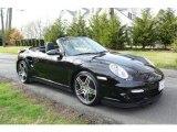 2008 Basalt Black Metallic Porsche 911 Turbo Cabriolet #7391509