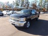 2013 Black Chevrolet Silverado 1500 LT Crew Cab #73989481