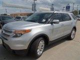 2013 Ingot Silver Metallic Ford Explorer Limited #73989077
