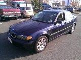 2002 Orient Blue Metallic BMW 3 Series 325xi Sedan #73989268