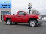 2012 Victory Red Chevrolet Silverado 1500 LT Regular Cab 4x4 #73989076