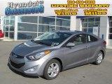 2013 Titanium Gray Metallic Hyundai Elantra Coupe GS #73988972