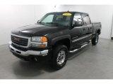 2003 Onyx Black GMC Sierra 2500HD SLT Crew Cab 4x4 #73988963