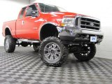2004 Red Ford F250 Super Duty XLT SuperCab 4x4 #73989374