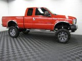 2004 Ford F250 Super Duty Red