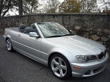 2004 Titanium Silver Metallic BMW 3 Series 325i Convertible #734168