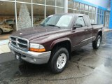 2004 Deep Molten Red Pearl Dodge Dakota SLT Club Cab 4x4 #73989034