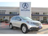 2012 Alabaster Silver Metallic Honda CR-V EX-L #73989026
