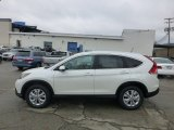 2013 White Diamond Pearl Honda CR-V EX-L AWD #73989540