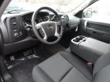 2013 Chevrolet Silverado 1500 Hybrid Crew Cab Ebony Interior