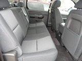 2013 Chevrolet Silverado 1500 Hybrid Crew Cab Rear Seat
