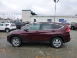 2013 Basque Red Pearl II Honda CR-V EX-L AWD #73989536