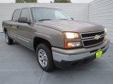 2006 Graystone Metallic Chevrolet Silverado 1500 LS Crew Cab 4x4 #73989226