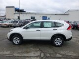 2013 White Diamond Pearl Honda CR-V LX AWD #73989532