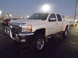 2013 White Diamond Tricoat Chevrolet Silverado 1500 LT Crew Cab 4x4 #73989342