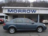 2007 Blue Granite Metallic Chevrolet Cobalt LT Sedan #7393636
