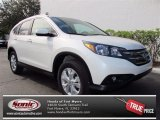2013 White Diamond Pearl Honda CR-V EX-L #74039302