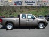 2012 Mocha Steel Metallic Chevrolet Silverado 1500 Work Truck Extended Cab #74039650