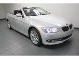 2013 Titanium Silver Metallic BMW 3 Series 328i Convertible #74039870