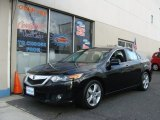 2010 Crystal Black Pearl Acura TSX Sedan #74040067