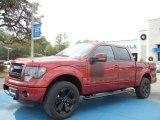 2013 Ruby Red Metallic Ford F150 FX4 SuperCrew 4x4 #74039482