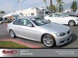 2010 Titanium Silver Metallic BMW 3 Series 328i Coupe #74039701