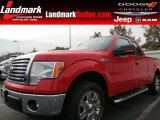 2011 Race Red Ford F150 XLT SuperCab #74039603