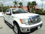 2011 Oxford White Ford F150 Lariat SuperCrew #74039474