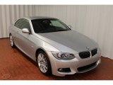 2013 Titanium Silver Metallic BMW 3 Series 335i Convertible #74039378