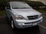 2005 Ice Blue Metallic Kia Sorento LX 4WD #74039375