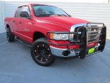 2005 Flame Red Dodge Ram 1500 ST Quad Cab #74039687