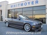 2005 Sparkling Graphite Metallic BMW 3 Series 330i Convertible #74039938