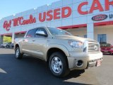 2010 Sandy Beach Metallic Toyota Tundra Limited CrewMax 4x4 #74039457