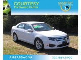 2011 White Platinum Tri-Coat Ford Fusion SE V6 #74039929