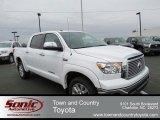 2013 Super White Toyota Tundra Platinum CrewMax 4x4 #74039921