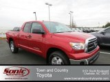 Barcelona Red Metallic Toyota Tundra in 2013