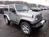 2013 Jeep Wrangler Billet Silver Metallic