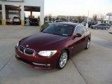 2011 Vermillion Red Metallic BMW 3 Series 328i Coupe #74095610