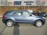 2013 Atlantis Blue Metallic Chevrolet Equinox LS AWD #74095486