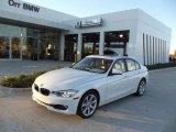 2013 Mineral White Metallic BMW 3 Series 335i Sedan #74095608