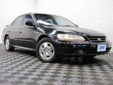 2002 Nighthawk Black Pearl Honda Accord EX V6 Sedan #74095720