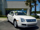 2008 White Suede Ford Fusion SE #7393077