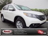2013 White Diamond Pearl Honda CR-V EX-L #74095246