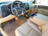 2013 Chevrolet Silverado 1500 LT Crew Cab Light Cashmere/Dark Cashmere Interior
