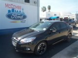 2013 Tuxedo Black Ford Focus SE Sedan #74095354