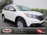 2013 White Diamond Pearl Honda CR-V EX-L #74095243